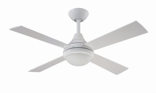 "Fantasia Sigma 42"" White Ceiling Fan + Remote Control +  Light 114253"